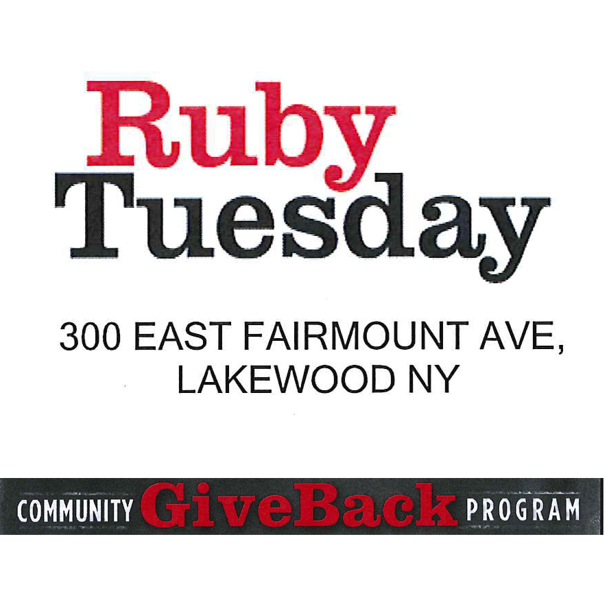 EVENT: Ruby Tuesday Community Give Back Program – August 22-23, 2013