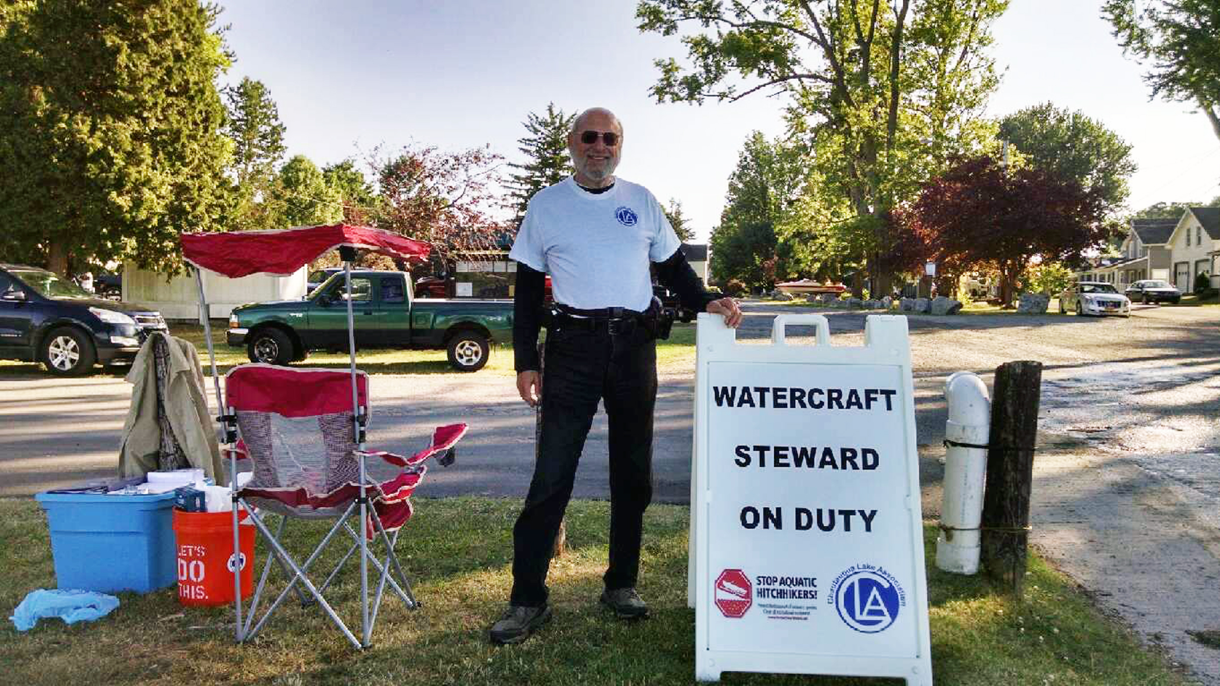 CLA Receives State Grant for Boat Launch Steward Program