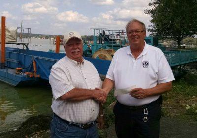 Chautauqua Lake Fishing Association Makes Donation to CLA