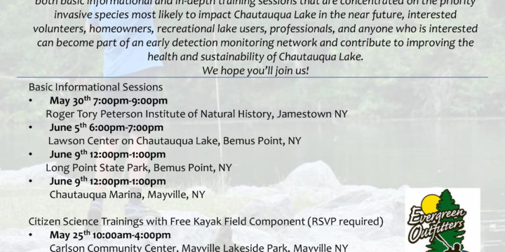 An Introduction to Chautauqua Lake's Invasive Aquatic Plant Species