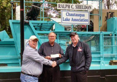 CLFA donates $5,000 to the CLA