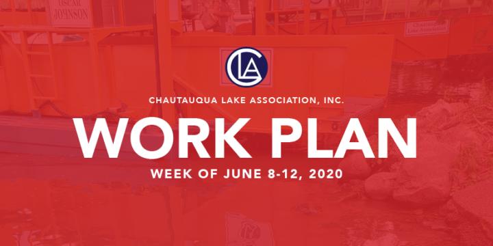 Work Plan: Week of June 8-12, 2020