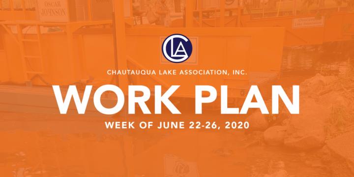 Work Plan: Week of June 22 – 26
