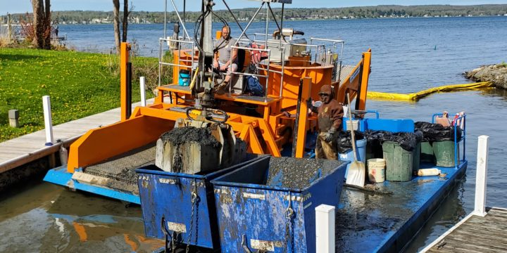 CLA Completes Dredging Project in Dewittville