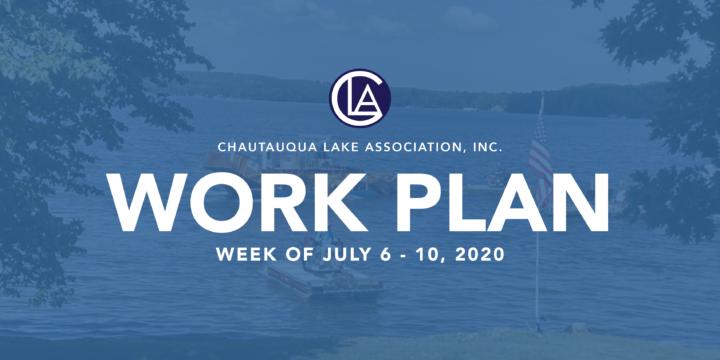 WORK PLAN: WEEK OF JULY 6 – 10, 2020