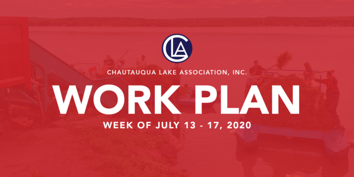 Work Plan for the week of July 13 – 17, 2020