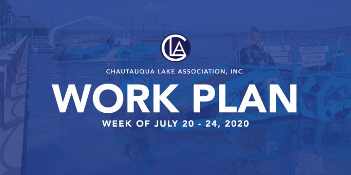 Work Plan: Week of July 20 – 24, 2020