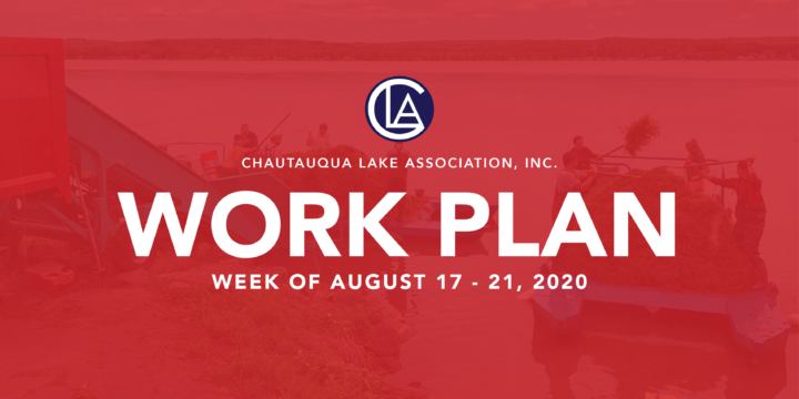 WORK PLAN: WEEK OF AUGUST 17 – 21, 2020