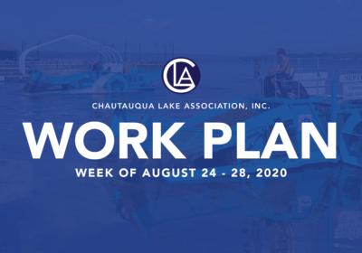 WORK PLAN: Week of August 24 – 28
