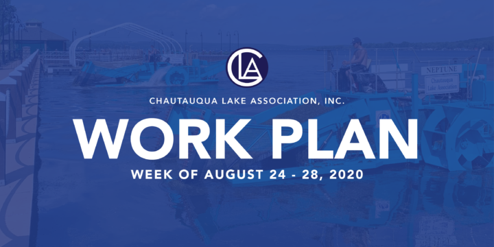 WORK PLAN: Week of August 24 – 28