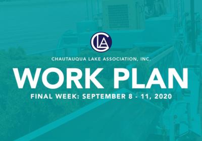 Work Plan: September 7 – 11, 2020