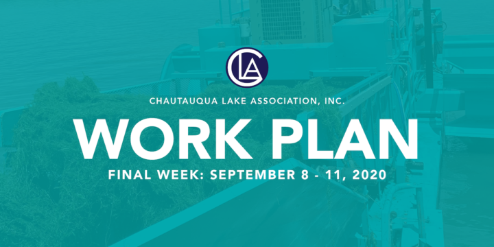 Work Plan: September 7 – 11, 2020