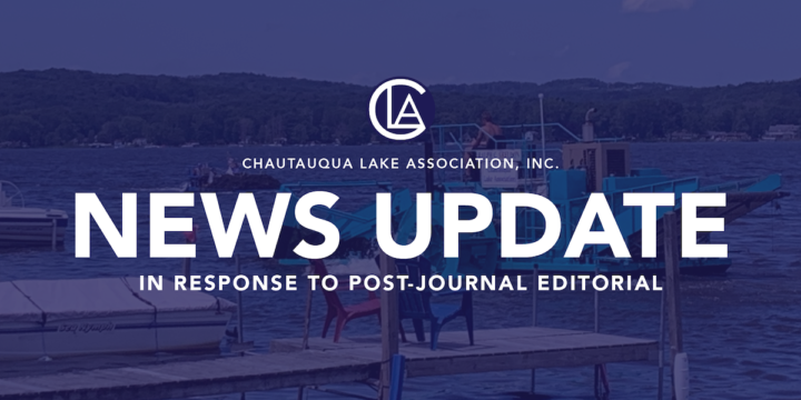 In Response to Local Editorial on Chautauqua Lake Management