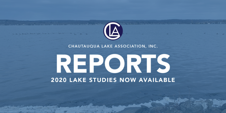 CLA RECEIVES 2020 LAKE STUDIES REPORTS