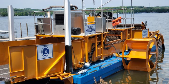 Harvesters Hit the Water
