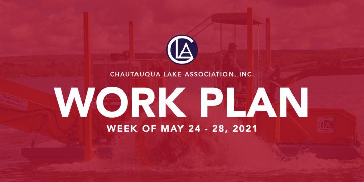 Work Plan: May 24 – 28, 2021