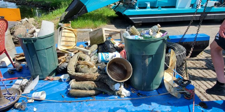 CLA Collaborates on Outlet Cleanup