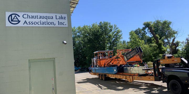 New Skimmer on Chautauqua Lake