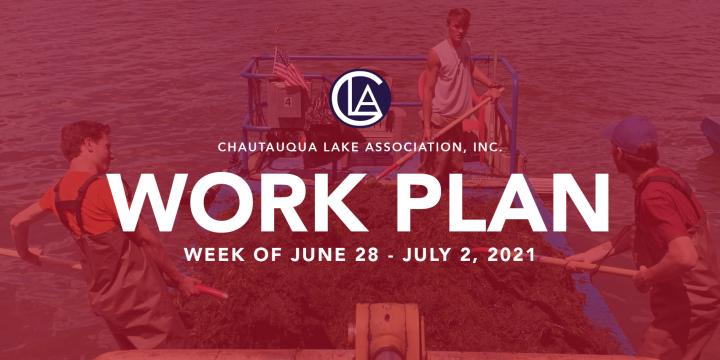 Work Plan: June 28 – July 2