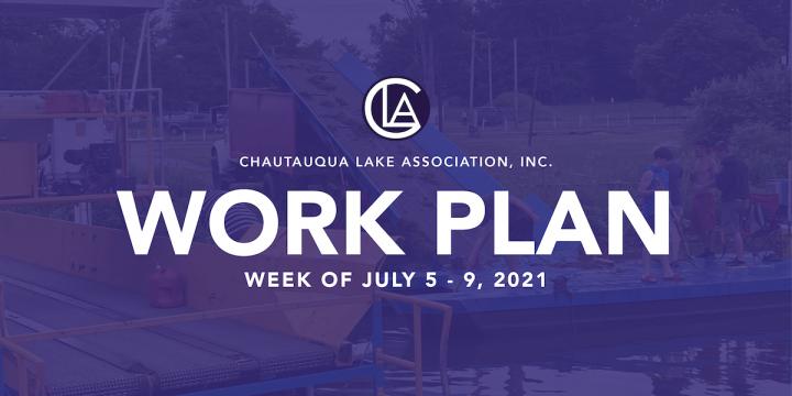 Work Plan: July 5 – 9