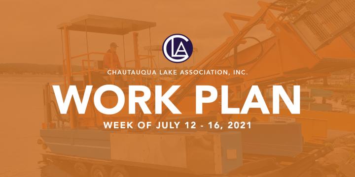 Work Plan: July 12 – 16
