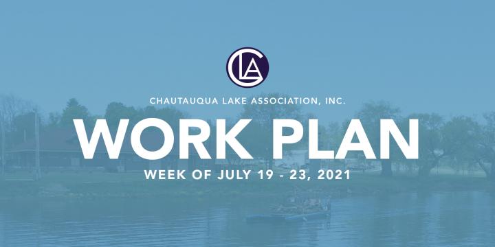 Work Plan: July 19 – 23