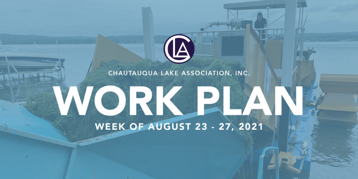 Work Plan: August 23 – 27