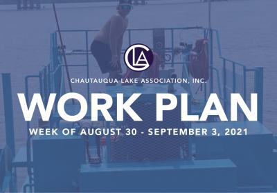 Work Plan: August 30 – September 4