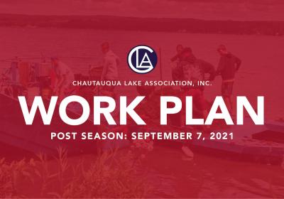 2021: Post Season Work Plan